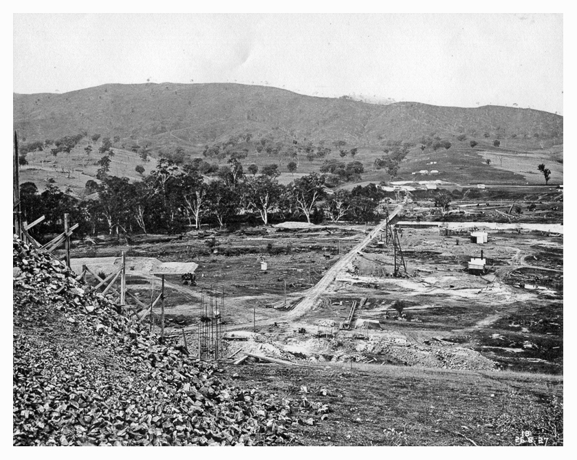1927 Bethanga Bridge area