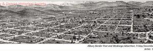 Albury panorama, 1888