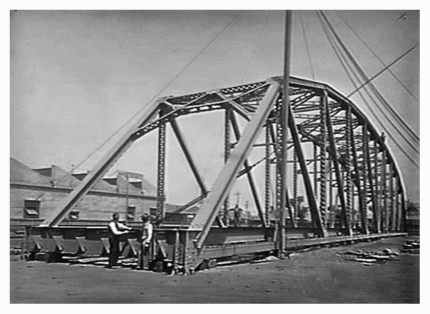 Bethanga Bridge truss
