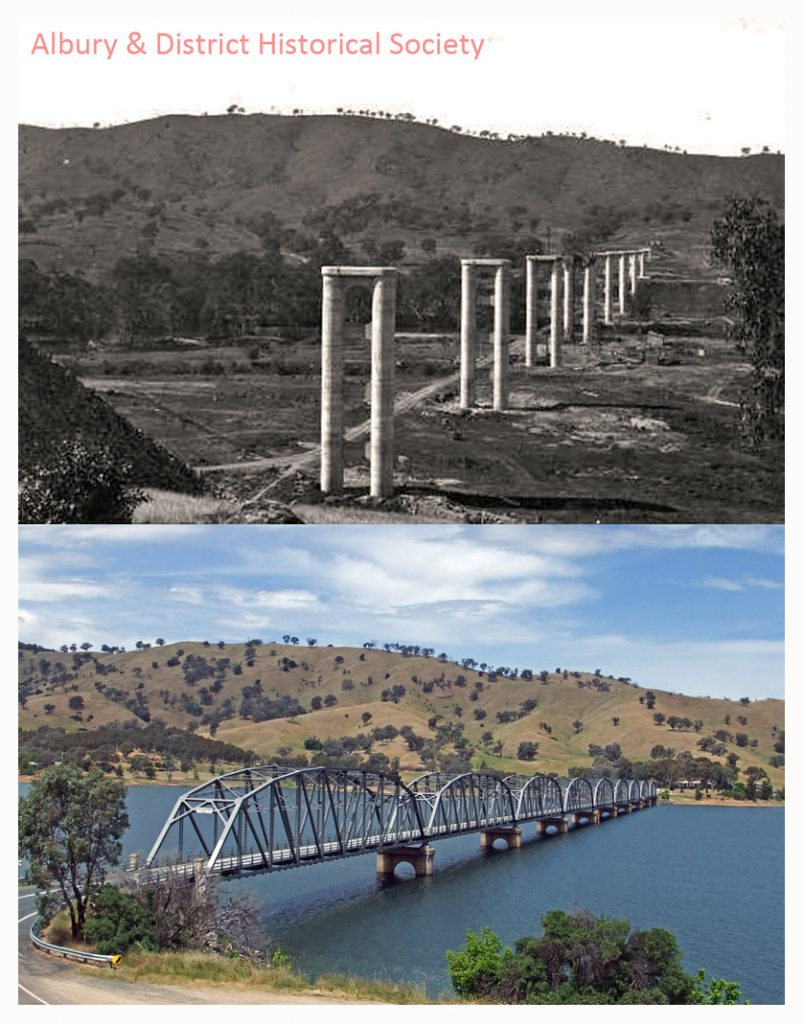 Bethanga Bridge via Albury
