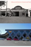 Corner Kiewa & Stanley streets albury-1940s