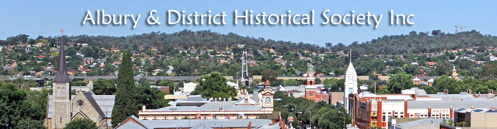 Albury & District Historical Society Inc
