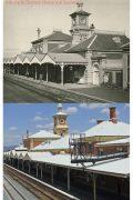 Albury Rail platform 1890