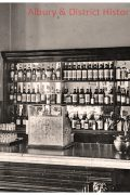 Albury Railway refreshment room