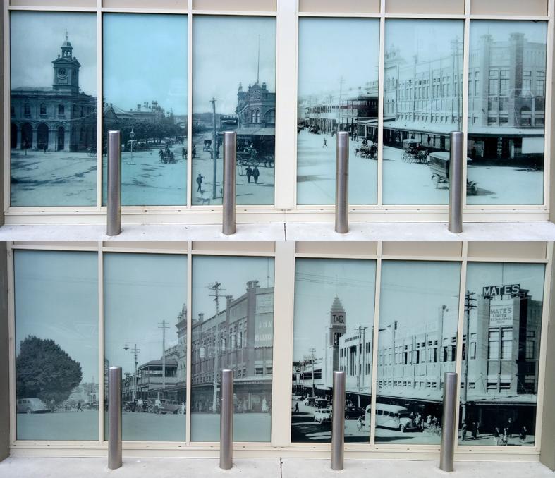 Shop windows Volt Lane Albury
