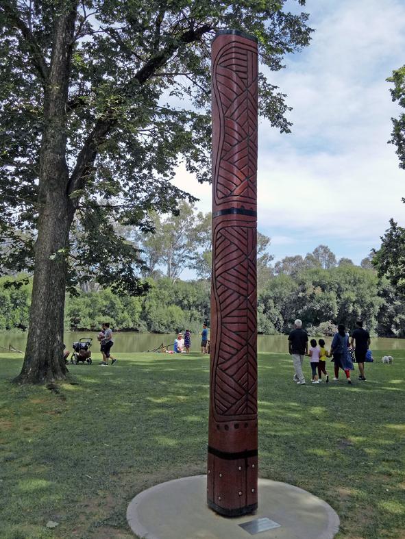 Totem Pole, Noriuel Park Albury