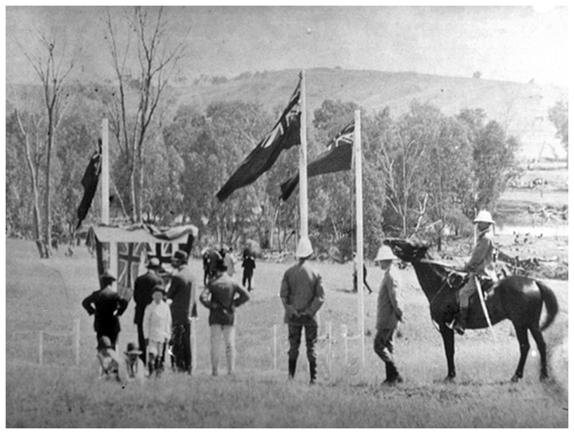 1919 Turning of the first sod