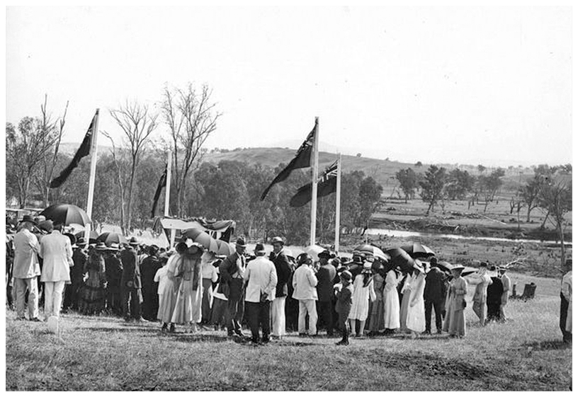 1919 guests at 'first-sod' ceremony