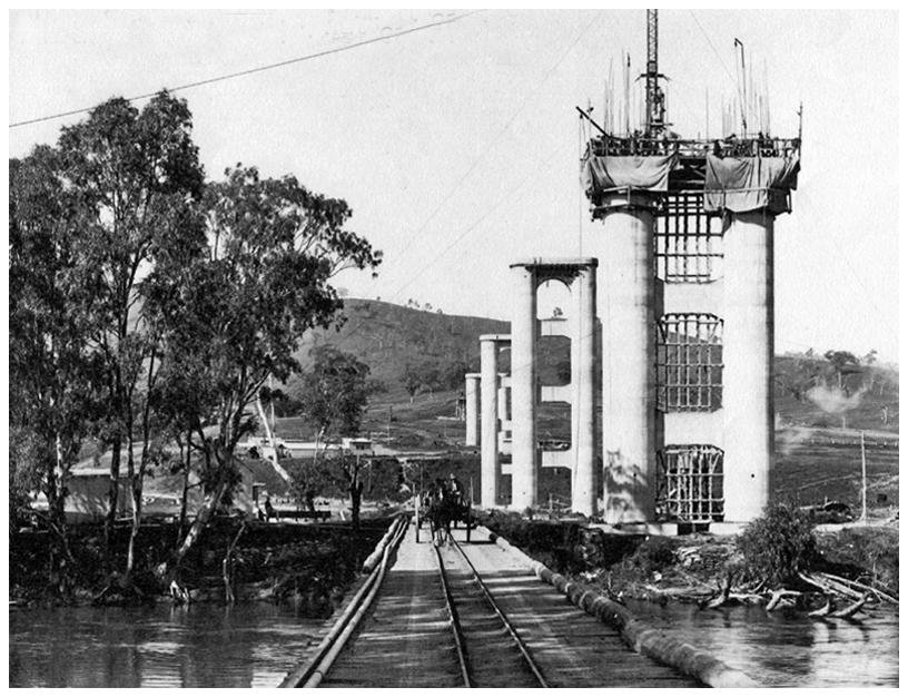 Bethanga Bridge Pylons