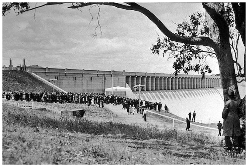 Hume Dam opening ceremony