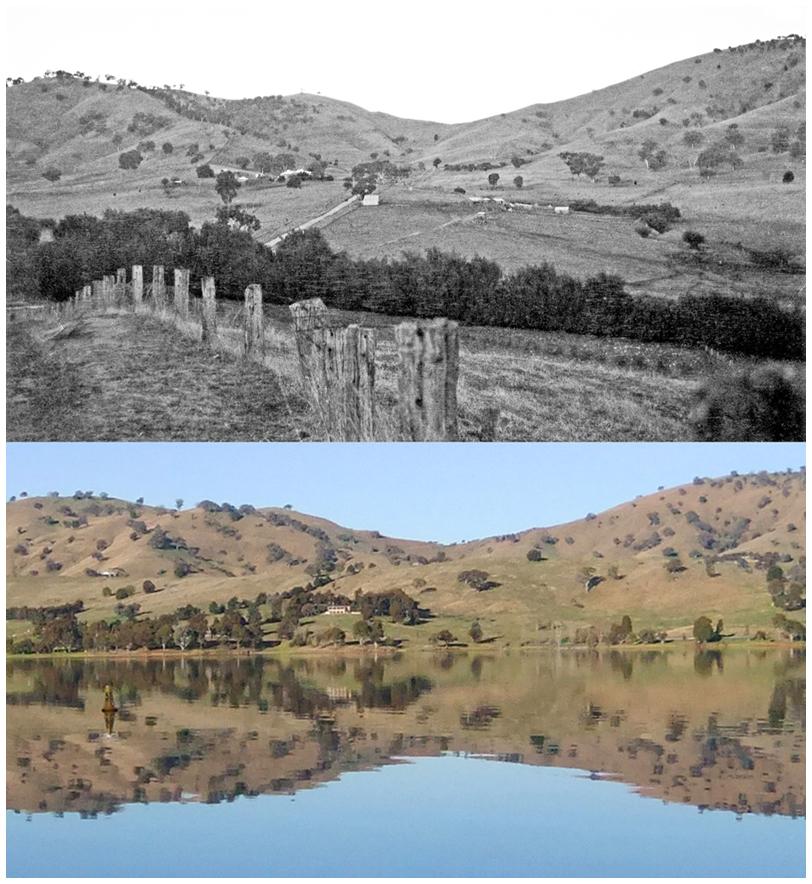 Bethanga Park before Hume Dam