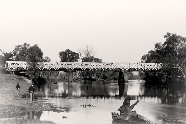 Albury Union Bridge 1895