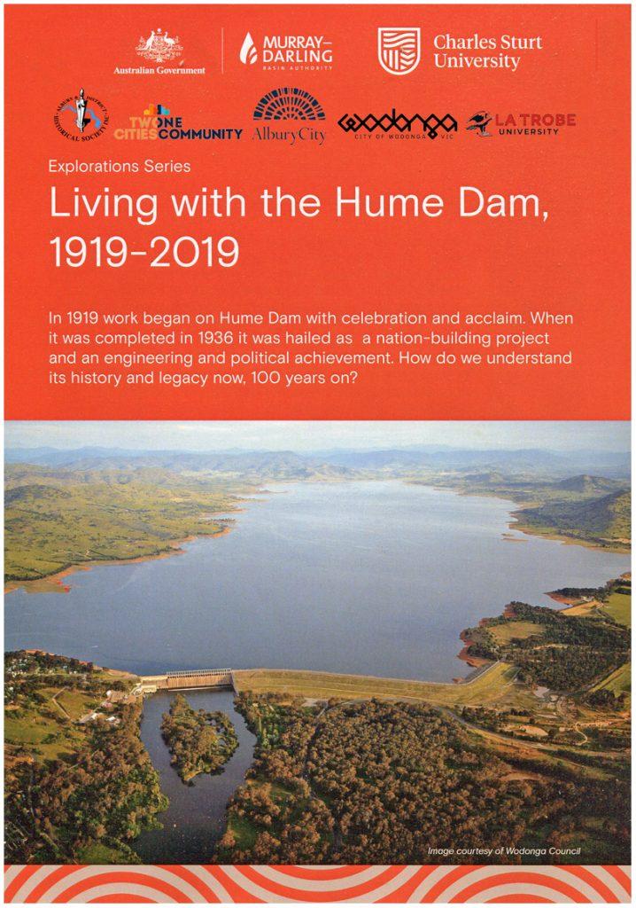 01Hume Dam 1919-2019