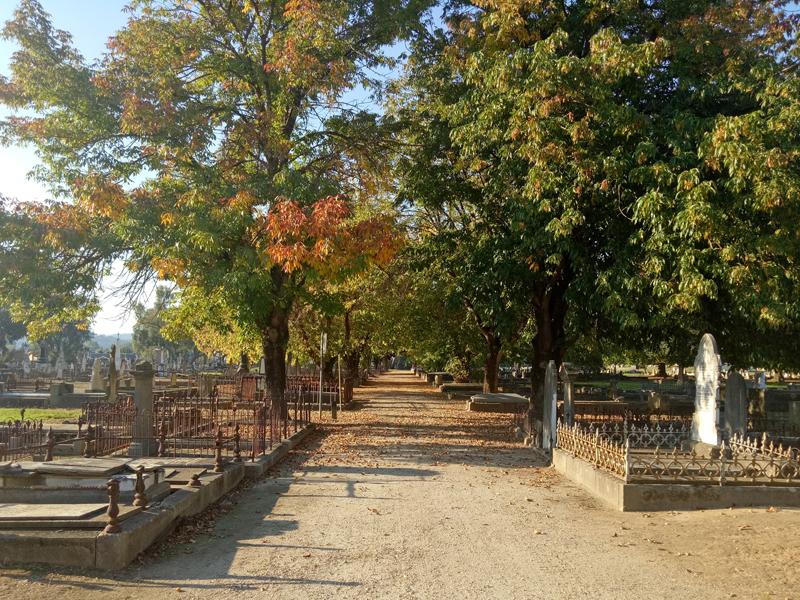 Albury Pioneer cemetery walk 2021#1