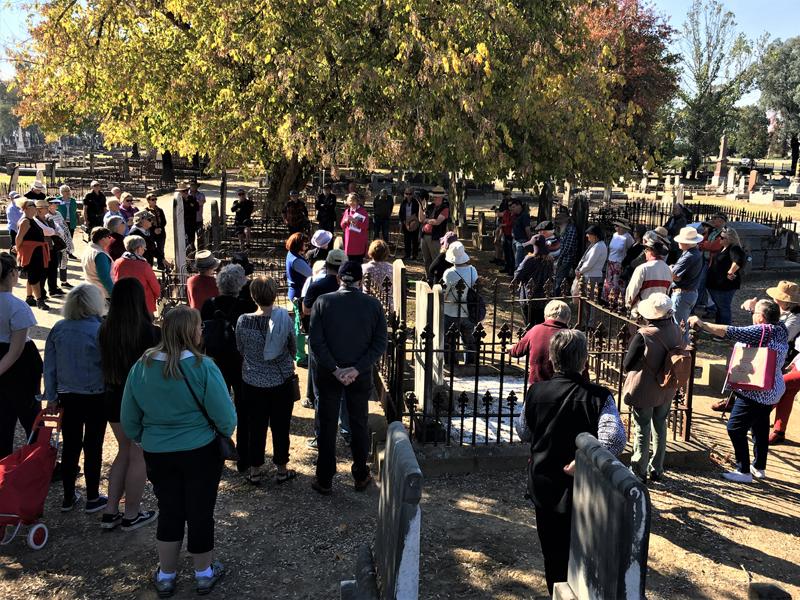 Albury Pioneer cemetery walk 2021#4