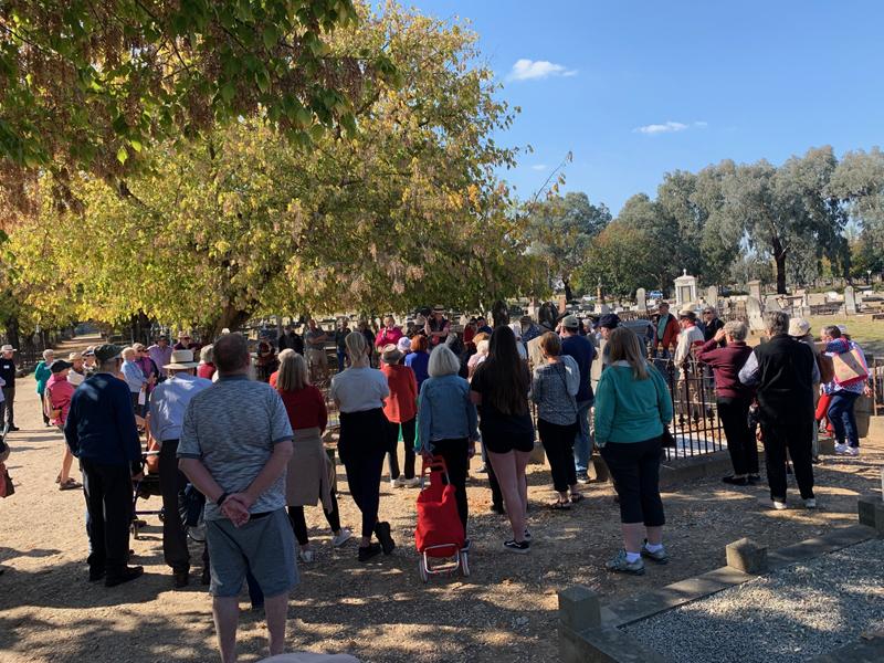 Albury Pioneer cemetery walk 2021#5
