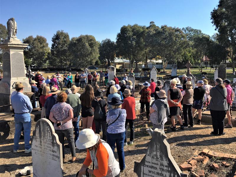 Albury Pioneer cemetery walk 2021#6